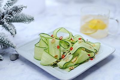 女神酱清新黄瓜沙拉#520,美食撩动TA的心#