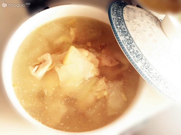 冬瓜鸡肉汤的做法