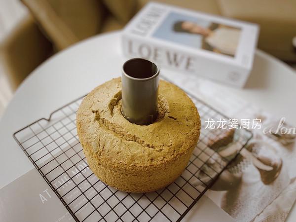 【抹茶戚风蛋糕】的做法