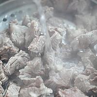 第一次做麻辣牛肉面,一口气吃两碗好吃的做法图解3