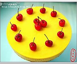 南瓜慕斯樱桃蛋糕的做法