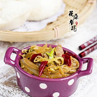 平民餐桌上的小幸福——酸菜炒肉