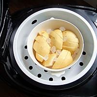 清润去湿的冰糖蒸梨#苏泊尔球釜电饭煲#的做法图解3