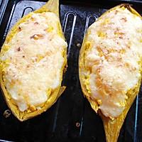 芝士烤红薯的做法图解9
