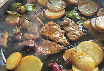 铁板土豆的做法