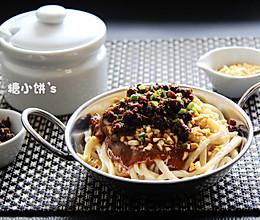 自制手擀面版川味名吃【担担面】开胃重口味拌面的做法