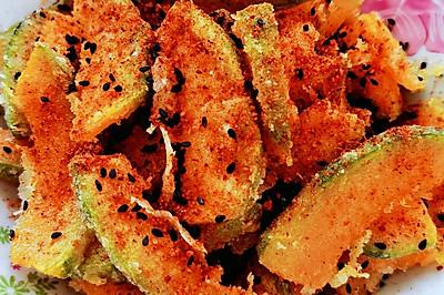 烧烤料焗南瓜