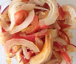 老黄瓜清凉拌的做法