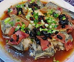 火腿蒸鳗鱼的做法