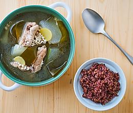 昆布冬瓜龙骨汤的做法