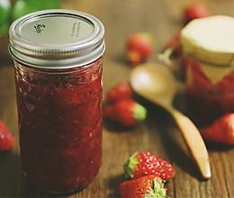 自制草莓酱,抹面包和拌酸奶超级赞!的做法