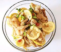 #网红美食我来做#柠檬凉拌鸡爪的做法