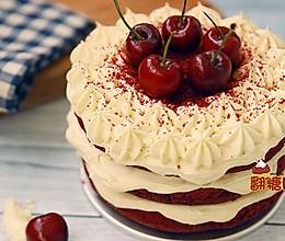 红丝绒裸蛋糕的做法