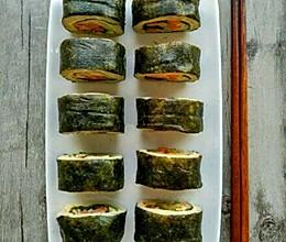 低卡减肥餐~杂蔬寿司的做法