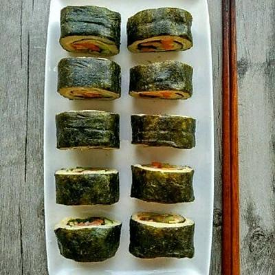 低卡减肥餐~杂蔬寿司