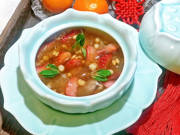 #新年开运菜,好事自然来#花开富贵水果银耳汤的做法