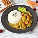 日式咖喱土豆鸡肉饭#安记咖喱快手菜#