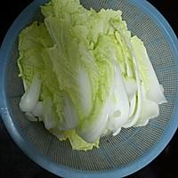 芡汁白菜的做法图解1