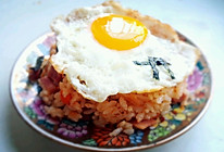 正宗韩国泡菜炒饭的做法