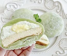 抹茶乳酪冰皮月亮蛋糕