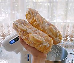 快乐爆炸奶油夹心毛毛虫面包的做法