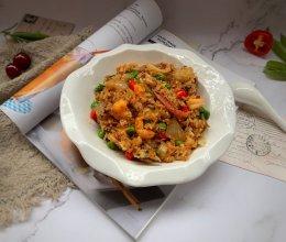 海鲜炒饭的做法