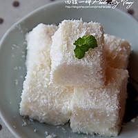牛奶椰蓉小方糕的做法图解12