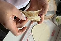 非常容易做的家常油饼,一层一层的那种的做法