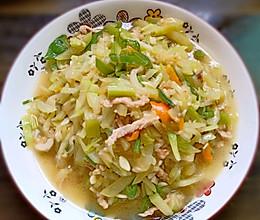 葫芦瓜炒肉的做法