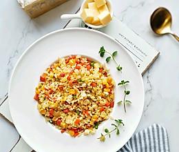 黄油炒饭——粒粒分明,完败普通炒饭