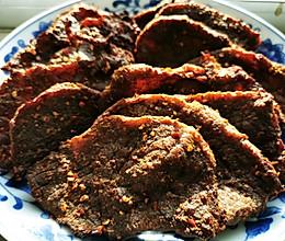 给孩子的零食—简单易学的烤牛肉干的做法