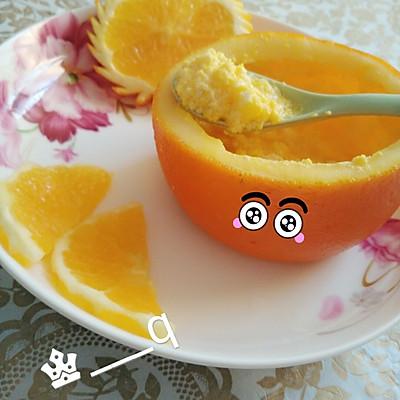 宝宝餐之香橙鸡蛋羹