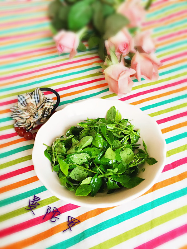 凉拌花椒芽的做法