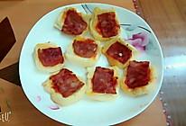培根番茄面包片的做法