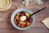 红枣栗子鸡蛋甜汤的做法