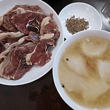 萝卜羊肉汤 一羊两吃