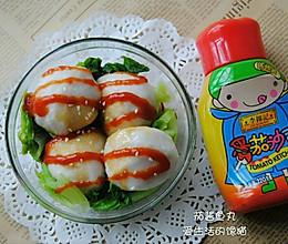 #李锦记番茄沙司#茄酱鱼丸的做法