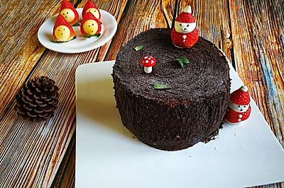 圣诞树桩蛋糕、劈柴蛋糕