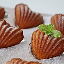 #今天吃什么#超好吃的精致甜品~玛德琳蛋糕