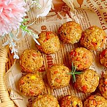 #牛气冲天#一口一个剩米饭神仙吃法日式烤饭团
