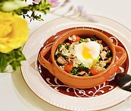 懒人晚餐:大杂烩炒饭#硬核菜谱制作人#的做法
