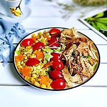 #精品菜谱挑战赛#鸡胸肉蔬菜沙拉