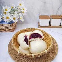 紫薯芋泥包