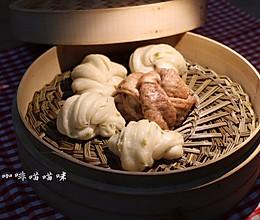双色花卷#KitchenAid的美食故事#的做法