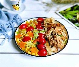 #精品菜谱挑战赛#鸡胸肉蔬菜沙拉的做法