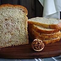 减肥佳品 全麦核桃土司 中种法的做法图解23