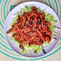 #餐桌上的春日限定#老北京人饭桌上少不了的京酱肉丝的做法图解9