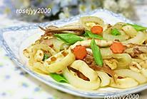 咖喱鱿鱼洋葱圈的做法