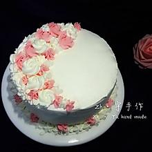 小清新风生日蛋糕