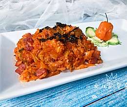 解酒解馋 韩式辣炒饭的做法
